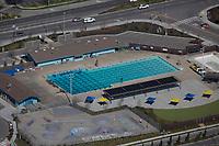 aerial photograph Petaluma Swim Center, Petaluma California
