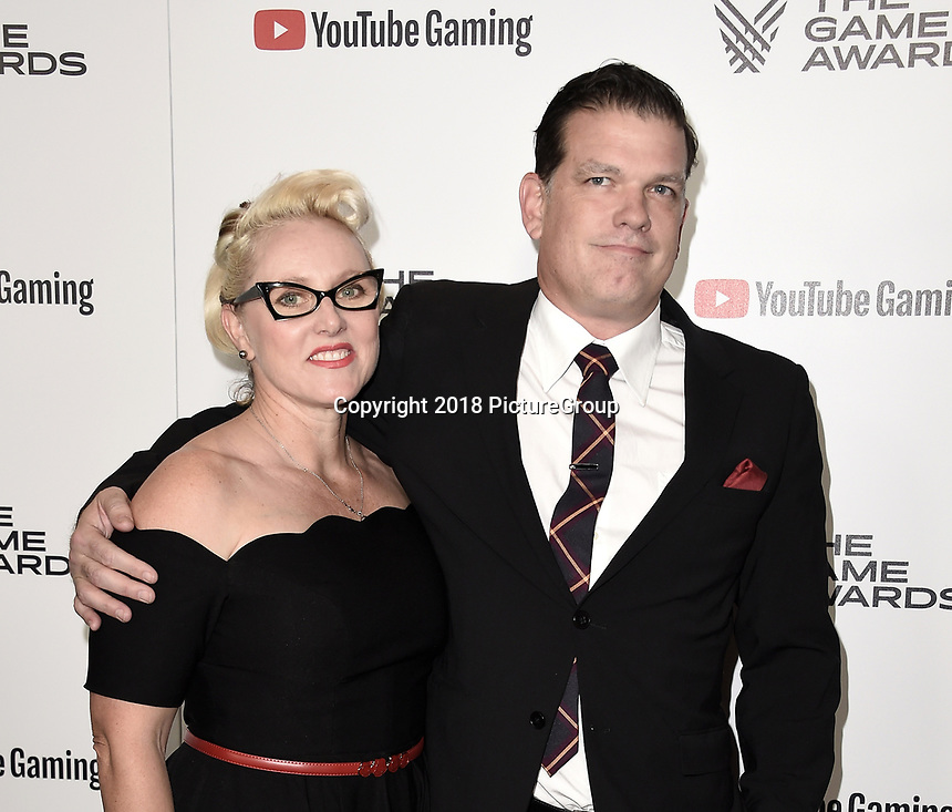 LOS ANGELES - DECEMBER 6: Lucy Dawson and Anton Dawson attend the 2018 Game Awards at the Microsoft Theater on December 6, 2018 in Los Angeles, California. (Photo by Scott Kirkland/PictureGroup)