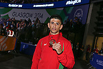 Glasgow 2014 Commonwealth Games<br /> <br /> Joseph Cordina with his bronze medal.<br /> <br /> 02.08.14<br /> ©Steve Pope-SPORTINGWALE