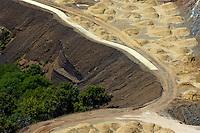 Vast construction area near San Pedro de Alcantara, Andalusia, Spain.