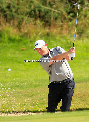 David DRYSDALE (SCO) during the ProAm ahead of the 2013 Johnnie Walker Championship being played over the PGA Centenary Course, Gleneagles, Perthshire from 22nd to 25th August 2013: Picture Stuart Adams www.golftourimages.com: 21st August 2013