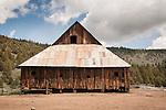 Weathered wooden barn, Loyalton, Calif.