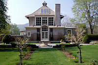 Stockbridge, Massachusetts, The Berkshires, Chesterwood studio and summer home of sculptor Daniel Chester French, A National Trust Historic Site in Stockbridge in the spring.