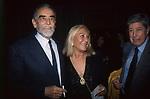 VITTORIO GASSMAN CON FRANCA BETTOJA E ANTONELLO FALQUI - TEATRO NAZIONALE ROMA 1996