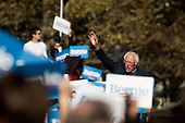 Queens, New York<br /> Queensbridge Park<br /> October 19, 2019<br /> <br /> Senator Bernie Sanders held his first major campaign rally since suffering from a heart attack earlier this month in Queensbridge Park. <br /> <br /> Congresswoman New York Rep. Alexandria Ocasio-Cortez endorses Sanders for US President at the rally.<br /> <br /> An estimated 26,000 people attended the event according to the Sanders campaign.