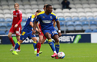 Paul Kalambayi of AFC Wimbledon during AFC Wimbledon vs Accrington Stanley, Sky Bet EFL League 1 Football at The Kiyan Prince Foundation Stadium on 3rd October 2020