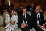 RENATA POLVERINI CON GIANNI ALEMANNO E NICOLA ZINGARETTI<br /> PREMIO GUIDO CARLI - SECONDA EDIZIONE<br /> PALAZZO DI MONTECITORIO - SALA DELLA REGINA ROMA 2011