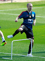 Spain's Andres Iniesta during training session. May 31,2018.(ALTERPHOTOS/Acero) /NortePhoto.com