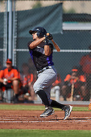 Colorado Rockies Chris Rabago (59) during an instructional league game against the San Francisco Giants on October 7, 2015 at the Giants Baseball Complex in Scottsdale, Arizona.  (Mike Janes/Four Seam Images)