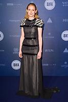 Emily Beecham<br /> arriving for the British Independent Film Awards 2017 at Old Billingsgate, London<br /> <br /> <br /> ©Ash Knotek  D3359  10/12/2017