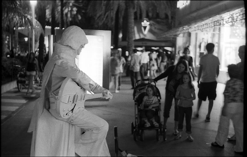 "Lincoln Road Nights<br /> From ""Miami Nights"" series<br /> Miami Beach. Feb 2011"