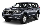 2021 Toyota Land-Cruiser-150 Country 5 Door SUV Angular Front automotive stock photos of front three quarter view