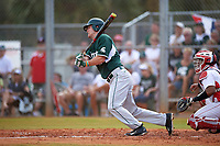 Michigan State Spartans right fielder Kris Simonton (17) at bat during a game against the Illinois State Redbirds on March 8, 2016 at North Charlotte Regional Park in Port Charlotte, Florida.  Michigan State defeated Illinois State 15-0.  (Mike Janes/Four Seam Images)