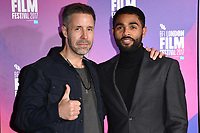 """Paddy Considine and Anthony Welsh<br /> arriving for the London Film Festival 2017 screening of """"Journeyman"""" at Picturehouse Central, London<br /> <br /> <br /> ©Ash Knotek  D3333  12/10/2017"""