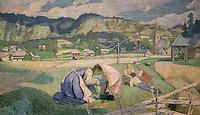 ActiveMuseum_0000072.jpg / Rest in Koprivnik - Ivan Grohar (1902) - <br />06/06/2013  -   / 20th century<br />Active Museum / Le Pictorium