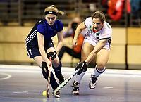 Svetlana Eroshina, Luisa Steindor /   /        /   <br /> / Sport / Hockey Hnhockey / World Championships Weltmeisterschaft Damen /  2017/2018 / 07.02.2018 / GER BRGermany vs. Russland  *** Local Caption *** © pixathlon<br /> Contact: +49-40-22 63 02 60 , info@pixathlon.de