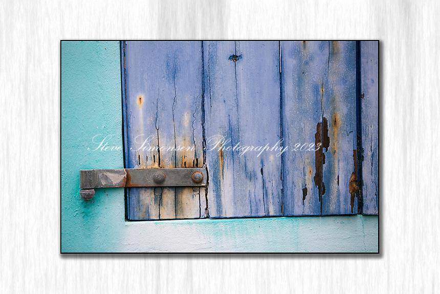 Old weathered door<br /> Virgin Islands