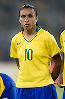 Marta. The USWNT defeated Brazil, 1-0, to win the gold medal during the 2008 Beijing Olympics at Workers' Stadium in Beijing, China.