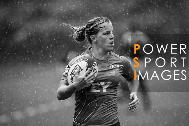 Netherlands vs Portugal during the Day 1 of the IRB Women's Sevens Qualifier 2014 at the Skek Kip Mei Stadium on September 12, 2014 in Hong Kong, China. Photo by Aitor Alcalde / Power Sport Images