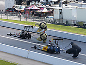Richie Crampton, DHL, top fuel, Antron Brown, Matco Tools