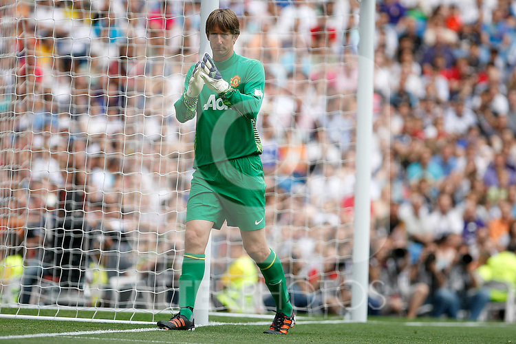 Manchester United´s Van Der Sar during Corazon Classic Match, Madrid 2012/June/03..(ALTERPHOTOS/ARNEDO)
