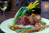 Seared Ahi at Indigo Restaurant, Downtown Honolulu