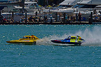 """Frame 6: Andrew Tate, H-300 """"Pennzoil"""", Donny Allen, H-14 """"Legacy 1""""       (H350 Hydro)"""