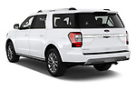 Car pictures of rear three quarter view of 2020 Ford Expedition Limited-MAX 5 Door SUV Angular Rear