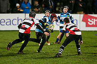 Friday 29th November 2019   Ulster Rugby vs Scarlets<br /> <br /> Halftime Mini-Rugby during the PRO14 clash between Ulster Rugby and the Scarlets at Kingspan Stadium, Ravenhill Park, Belfast, Northern Ireland. Photo credit - John Dickson DICKSONDIGITAL