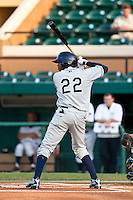 Tim Beckham (22) of the Charlotte Stone Crabs during a game vs. the Lakeland Flying Tigers May 11 2010 at Joker Marchant Stadium in Lakeland, Florida. Charlotte won the game against Lakeland by the score of 3-0.  Photo By Scott Jontes/Four Seam Images