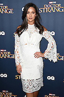 "Roxie Nafousi<br /> at the ""Doctor Strange"" launch event, Westminster Abbey, London.<br /> <br /> <br /> ©Ash Knotek  D3189  24/10/2016"
