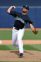 Luis Pena -  Seattle Mariners - 2009 spring training.Photo by:  Bill Mitchell/Four Seam Images