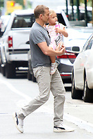 NEW YORK, NY- June 10: Bradley Cooper with daughter Lea Cooper seen in Soho in New York City on June 10, 2021. <br /> CAP/MPI/RW<br /> ©RW/MPI/Capital Pictures