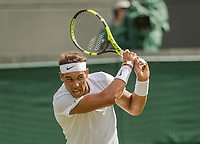 London, England, 3 th July, 2017, Tennis,  Wimbledon,  Rafael Nadal (ESP)<br /> Photo: Henk Koster/tennisimages.com