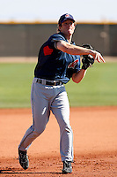 Jared Goedert -  Cleveland Indians - 2009 spring training.Photo by:  Bill Mitchell/Four Seam Images