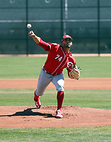 Jose Lopez - Cincinnati Reds 2018 spring training (Bill Mitchell)