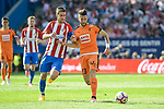 "Atletico de Madrid's Gabriel ""Gabi"" Fernández and SD Eibar's David Junca Reñe during Liga Liga match between Atletico de Madrid and SD Eibar at Vicente Calderon Stadium in Madrid, May 06, 2017. Spain.<br /> (ALTERPHOTOS/BorjaB.Hojas)"