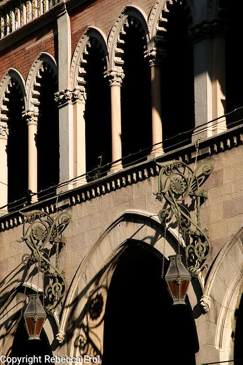 Detail of Saint Antoine Catholic Church on Istiklal Street, Beyoglu, Istanbul, Turkey