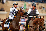 JULY 24, 2021: Flavien Prat aboard going global before the San Clemente Stakes at the Del Mar Fairgrounds in Del Mar, California on July 24, 2021. Evers/Eclipse Sportswire/CSM