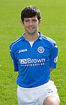 St Johnstone FC 2014-2015 Season Photocall..15.08.14<br /> Dylan Easton<br /> Picture by Graeme Hart.<br /> Copyright Perthshire Picture Agency<br /> Tel: 01738 623350  Mobile: 07990 594431