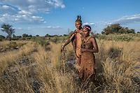Kalahari Bushman portraits