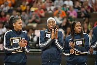 DENVER, CO--WBCA All American Awards for the 2012 NCAA Women's Final Four in Denver, CO.