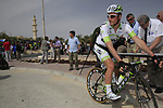Project IT4i team rider John Degenkolb (GER) signs on before the start of the 3rd Stage of the 2012 Tour of Qatar running 146.5km from Dukhan Souq, Dukhan to Al Gharafa, Qatar. 7th February 2012.<br /> (Photo Eoin Clarke/Newsfile)