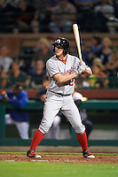 Glendale Desert Dogs Andrew Stevenson (24), of the Washington Nationals organization, during a game against the Scottsdale Scorpions on October 14, 2016 at Scottsdale Stadium in Scottsdale, Arizona.  Scottsdale defeated Glendale 8-7.  (Mike Janes/Four Seam Images)