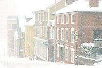 A Winter view of Thomas Street