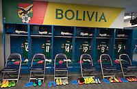 Photo before the match Argentina vs Bolivia, Corresponding to Group -D- America Cup Centenary 2016 at CenturyLink Field.<br /> <br /> Foto previo al partido Argentina vs Bolivia, Correspondiente al Grupo -D- de la Copa America Centenario 2016 en el  CenturyLink Field, en la foto: Vestidores de Bolivia<br /> <br /> <br /> 14/06/2016/MEXSPORT/David Leah.
