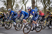 A relaxed Wolfpack in the first part of the race<br /> <br /> 105th Ronde van Vlaanderen 2021 (MEN1.UWT)<br /> <br /> 1 day race from Antwerp to Oudenaarde (BEL/264km) <br /> <br /> ©kramon