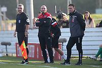 Maldon manager Wayne Brown during Maldon & Tiptree vs Morecambe, Emirates FA Cup Football at the Wallace Binder Ground on 8th November 2020