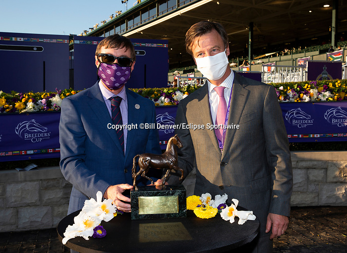 November 6, 2020: Breeders Award, Juvenile Fillies Turf on Breeders' Cup Championship Friday at Keeneland on November 6, 2020: in Lexington, Kentucky. Bill Denver/Breeders' Cup/Eclipse Sportswire/CSM