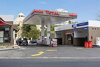 Dakar, Senegal.  Modern Gas Station.